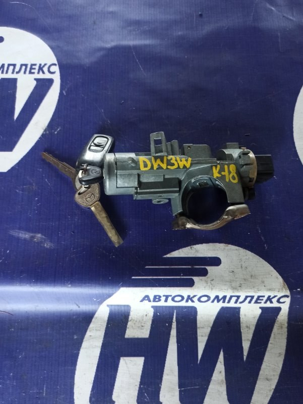 Замок зажигания Mazda Demio DW3W B3 (б/у)