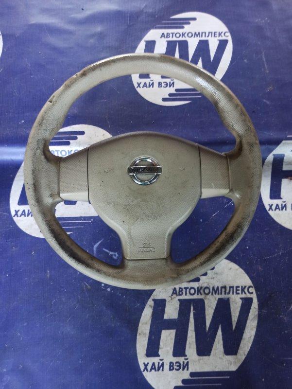 Руль Nissan Bluebird Sylphy G11 HR15 (б/у)