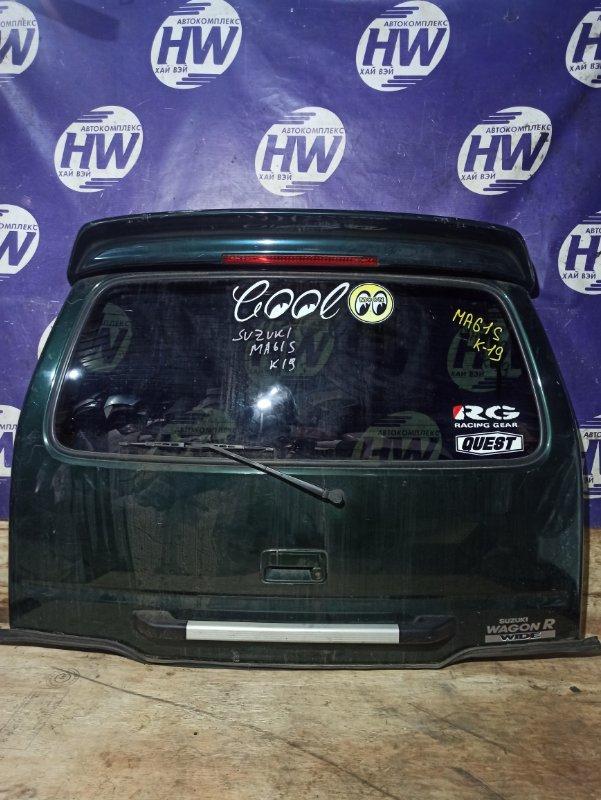 Дверь 5-я Suzuki Wagon R Wide MA61S K10AT (б/у)