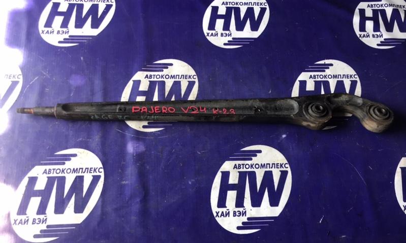 Рычаг Mitsubishi Pajero V24 4D56 задний (б/у)