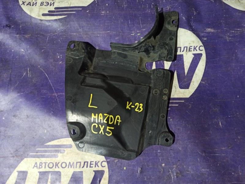Защита двигателя Mazda Cx-5 KE2FW SH левая (б/у)