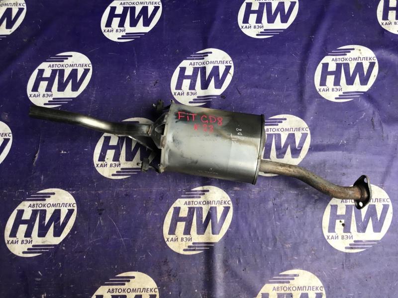 Глушитель Honda Fit Aria GD8 L15A (б/у)