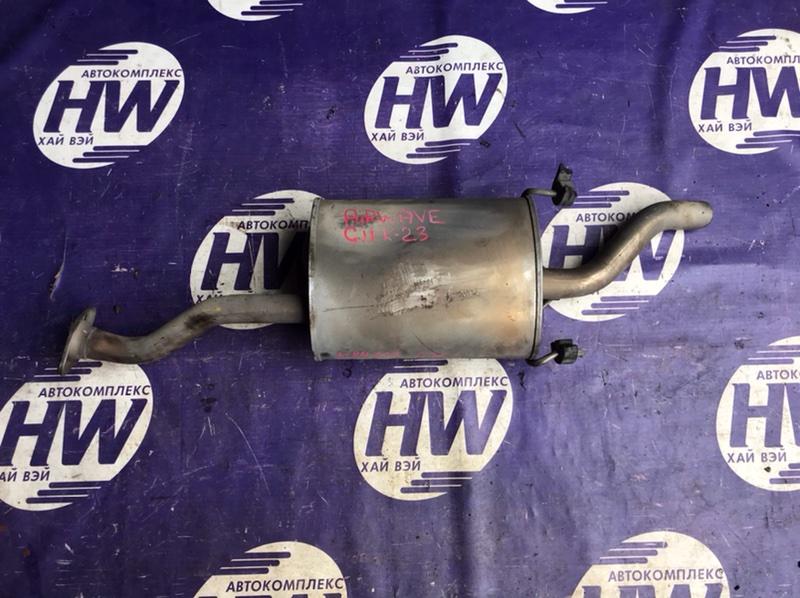 Глушитель Honda Airwave GJ1 L15A (б/у)