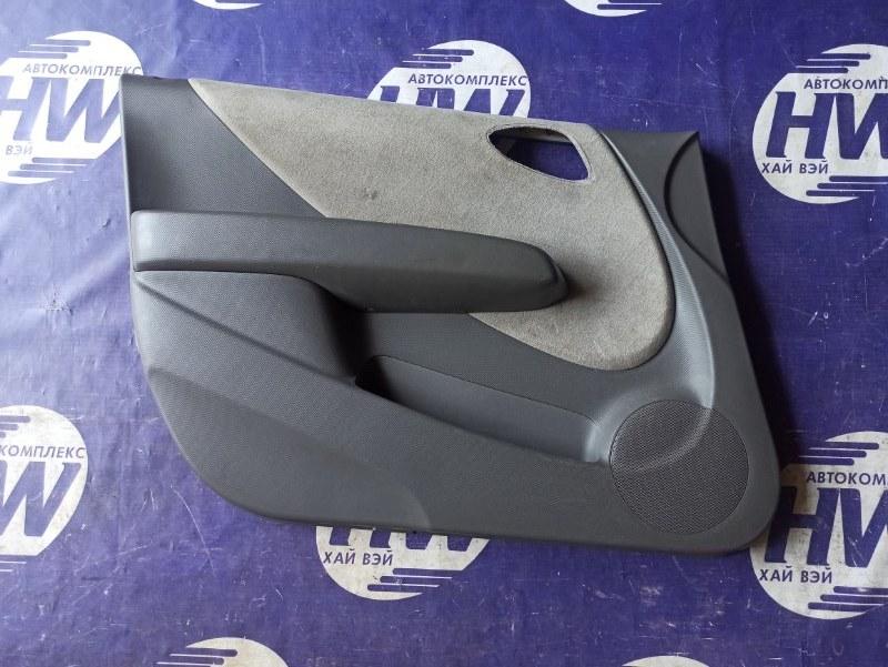 Обшивка двери Honda Fit GD1 L13A передняя левая (б/у)