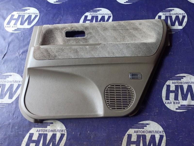 Обшивка двери Honda Odyssey RA2 F22B задняя правая (б/у)