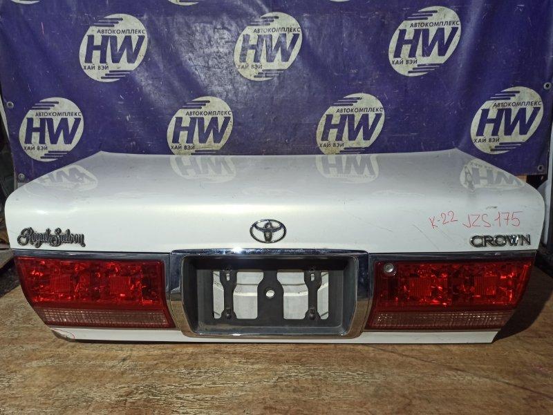 Крышка багажника Toyota Crown JZS175 2JZFSE (б/у)