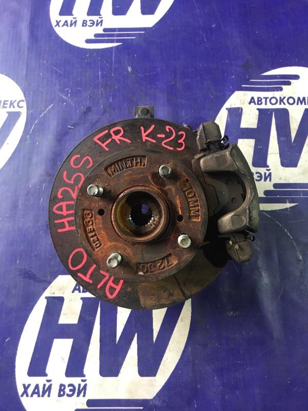 Ступица Suzuki Alto HA25S K6A передняя правая (б/у)