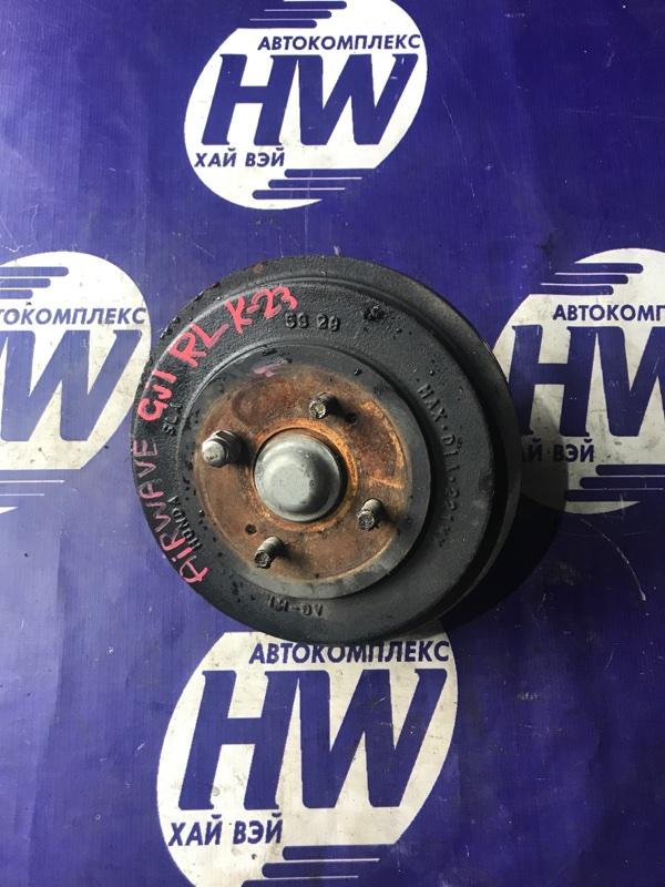 Ступица Honda Airwave GJ1 L15A задняя левая (б/у)