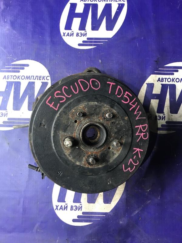 Ступица Suzuki Escudo TD54W J20A задняя правая (б/у)