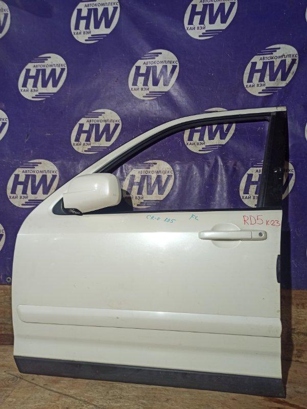Дверь Honda Cr-V RD5 K20A передняя левая (б/у)