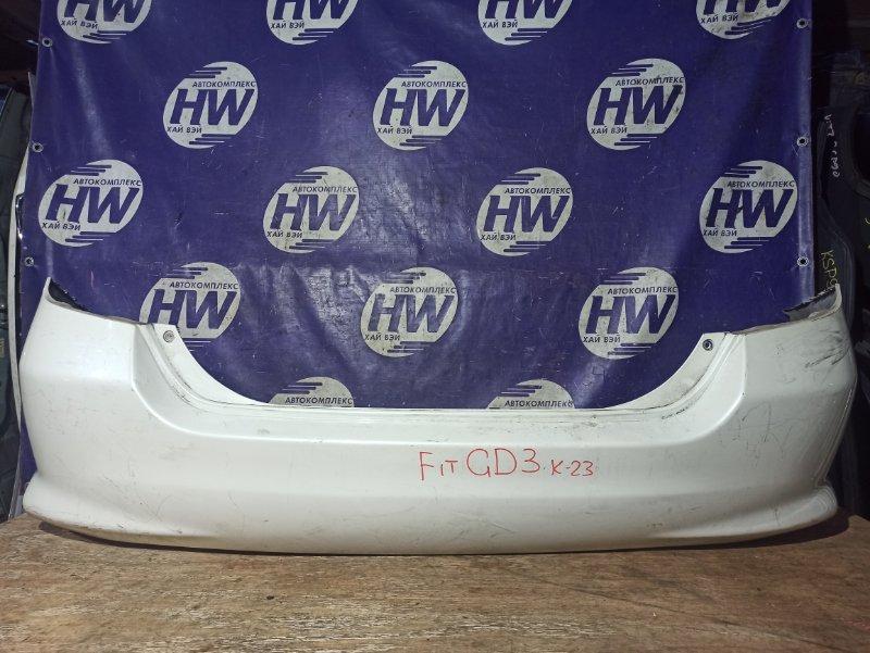 Бампер Honda Fit GD1 L13A задний (б/у)
