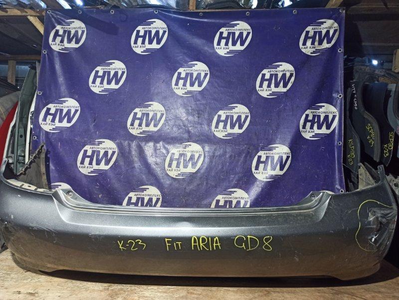 Бампер Honda Fit Aria GD8 L15A задний (б/у)