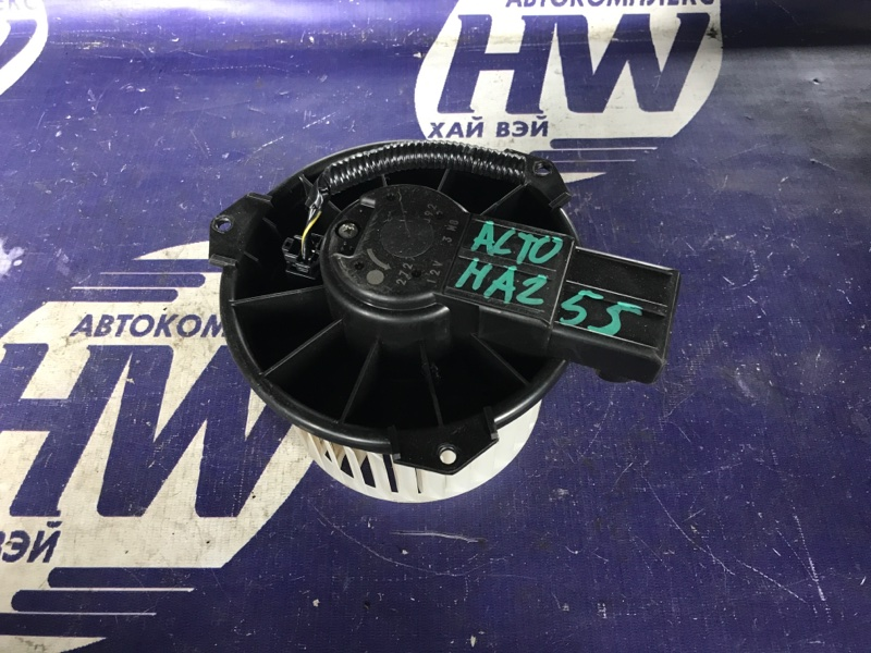 Мотор печки Suzuki Alto HA25S K6A (б/у)