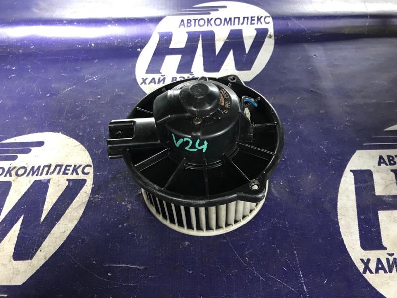 Мотор печки Mitsubishi Pajero V24 4D56 (б/у)