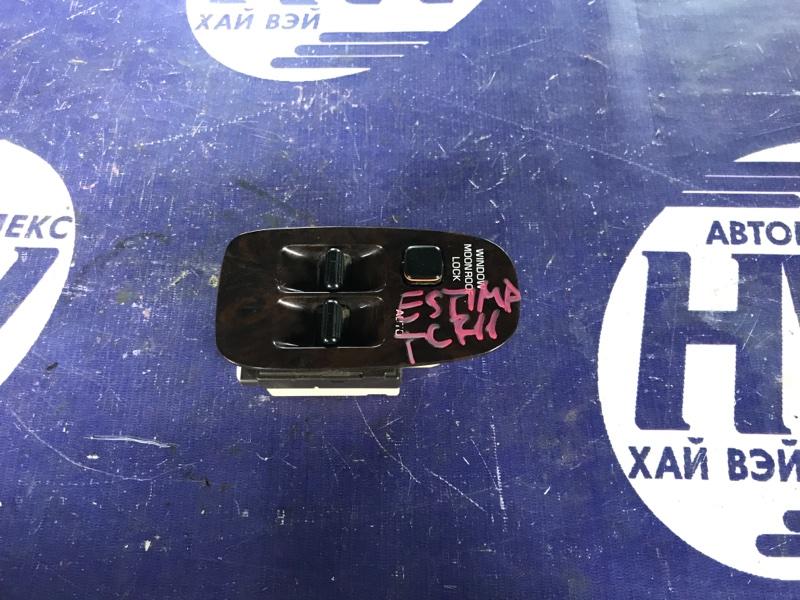 Блок упр. стеклоподъемниками Toyota Estima TCR11 2TZFZE передний правый (б/у)