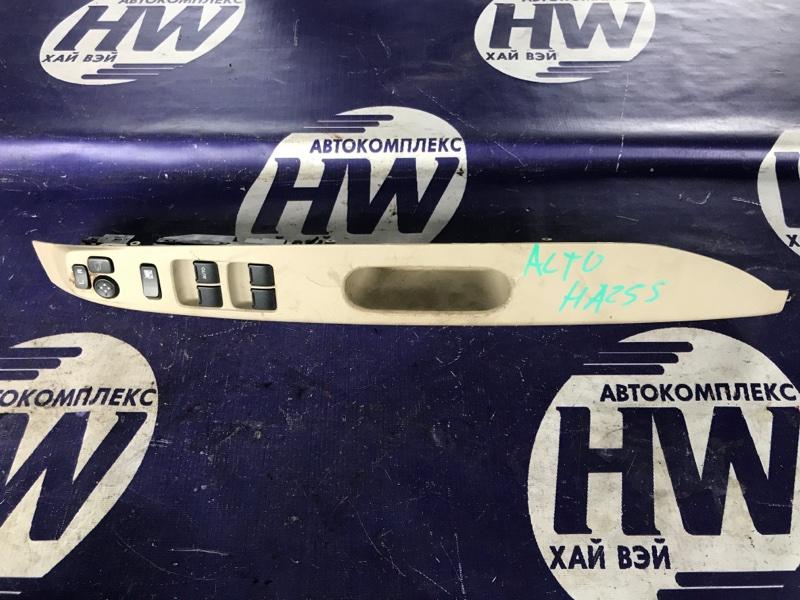Блок упр. стеклоподъемниками Suzuki Alto HA25S K6A передний правый (б/у)