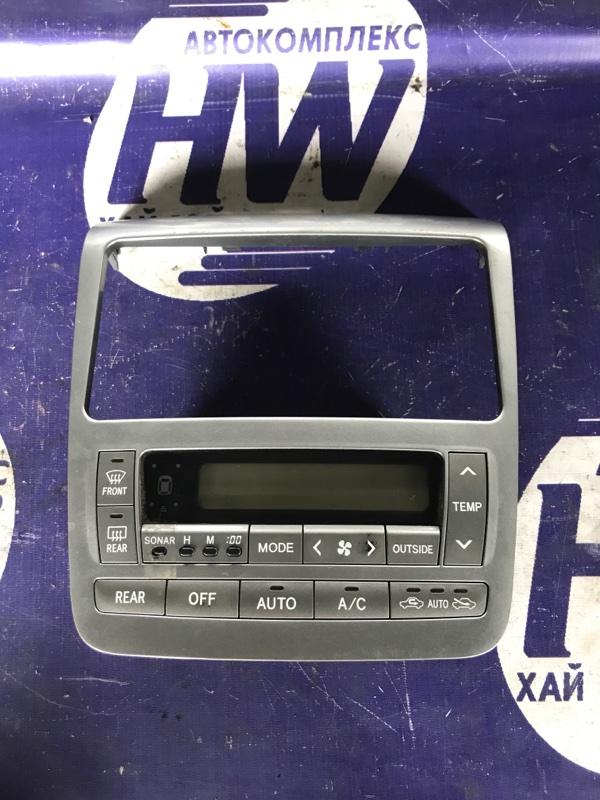 Климат-контроль Toyota Alphard MNH10 1MZ (б/у)