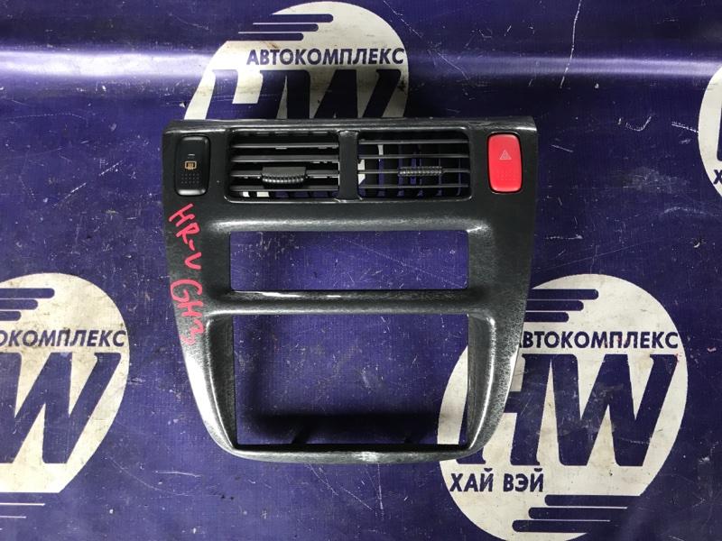 Консоль магнитофона Honda Hr-V GH3 D16A (б/у)