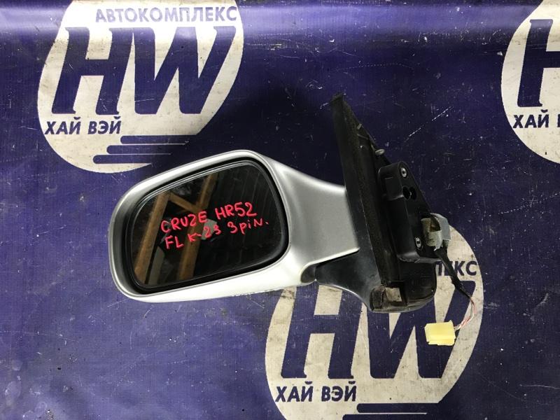 Зеркало Suzuki Chevrolet Cruze HR52S M13A левое (б/у)