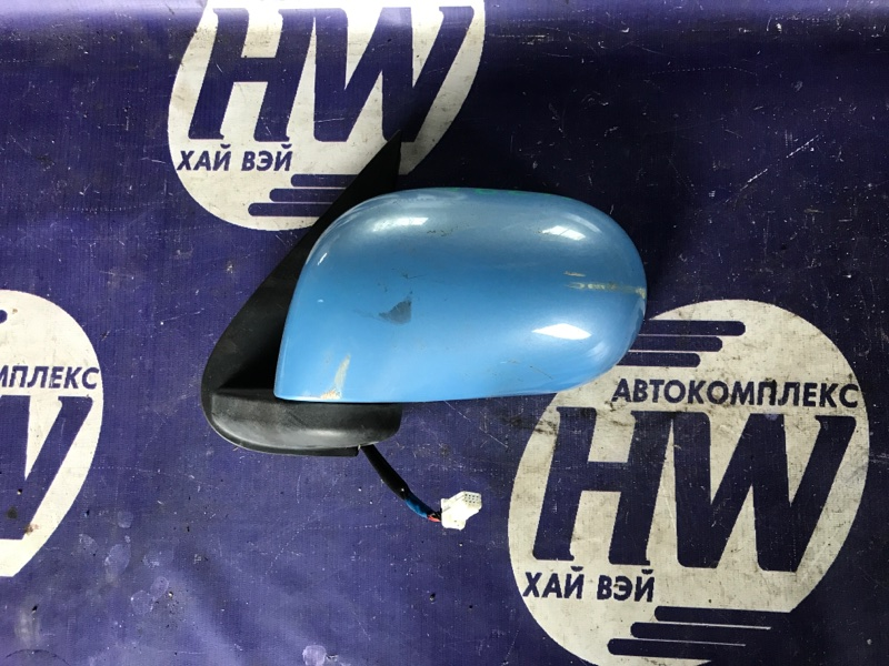 Зеркало Nissan Cube YGZ11 HR15 левое (б/у)