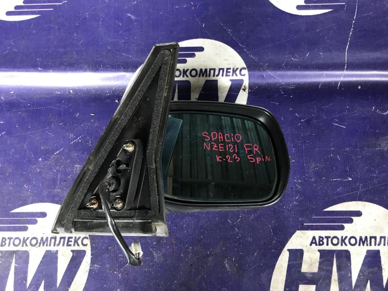 Зеркало Toyota Corolla Spacio NZE121 1NZ правое (б/у)