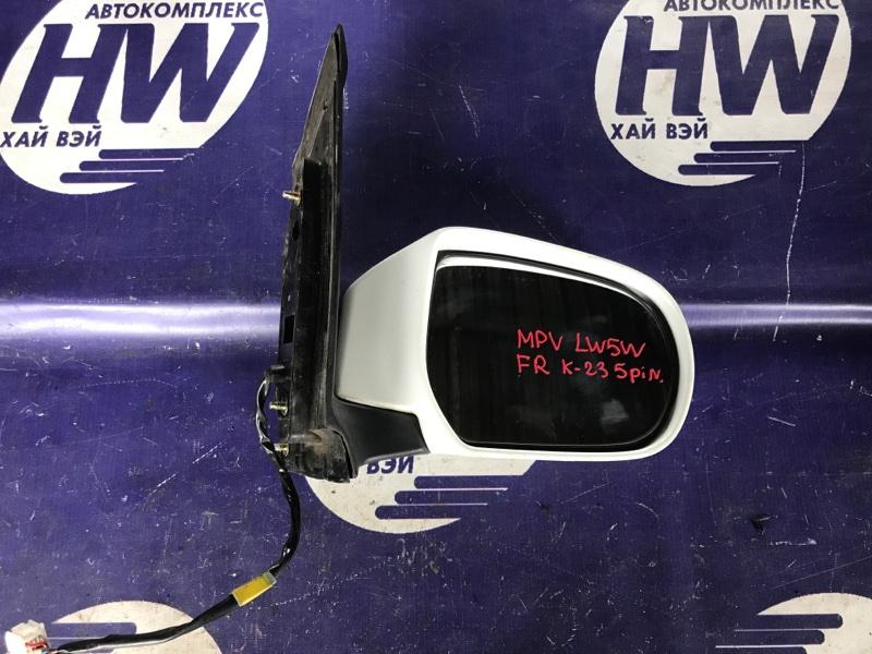 Зеркало Mazda Mpv LW5W GY правое (б/у)