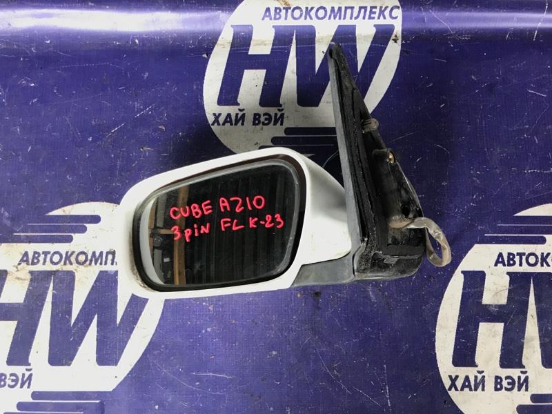 Зеркало Nissan Cube AZ10 CGA3 левое (б/у)