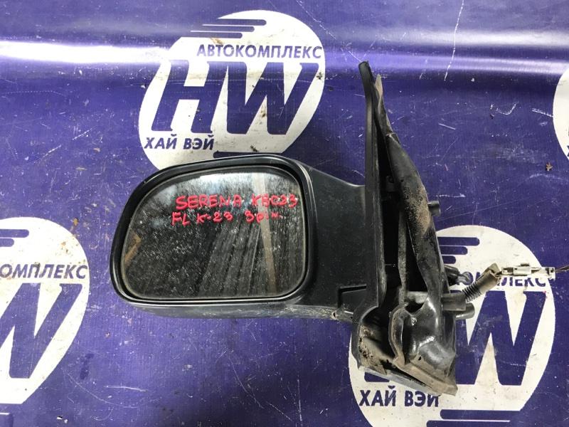 Зеркало Nissan Serena KBC23 SR20DE левое (б/у)