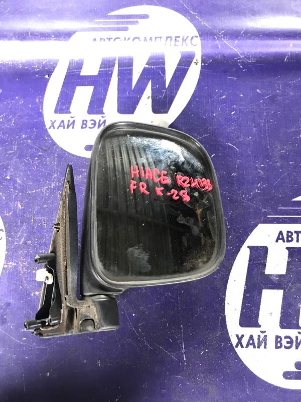 Зеркало Toyota Hiace RZH133 2RZ правое (б/у)