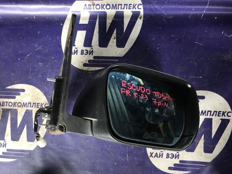 Зеркало Suzuki Escudo TD54W J20A правое (б/у)