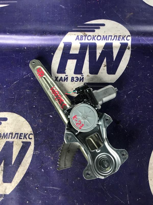 Стеклоподъемник Suzuki Alto HA25S K6A задний правый (б/у)