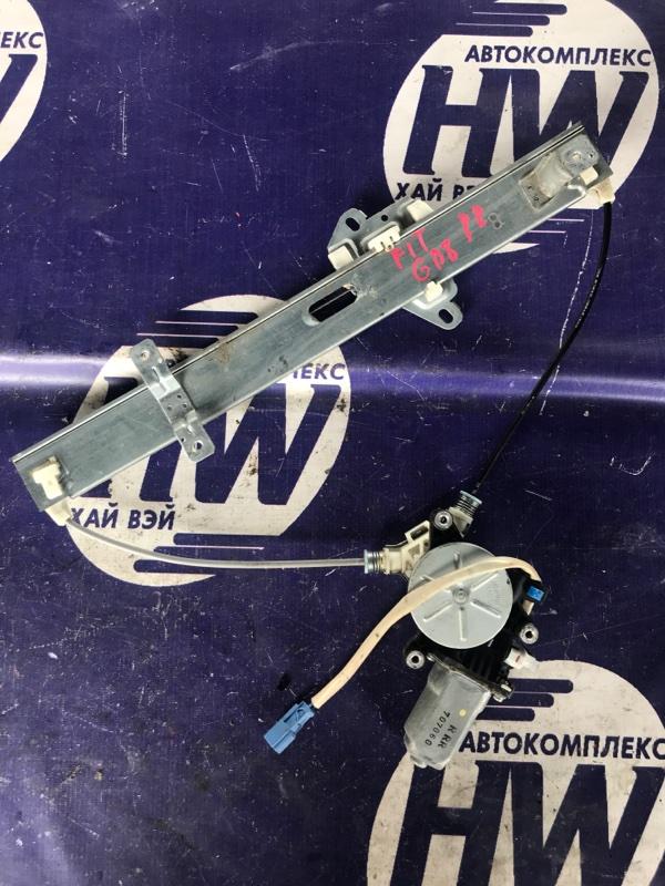 Стеклоподъемник Honda Fit Aria GD8 L15A задний правый (б/у)