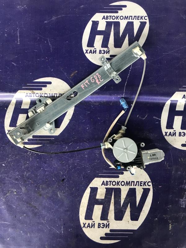Стеклоподъемник Honda Fit Aria GD8 L15A задний левый (б/у)