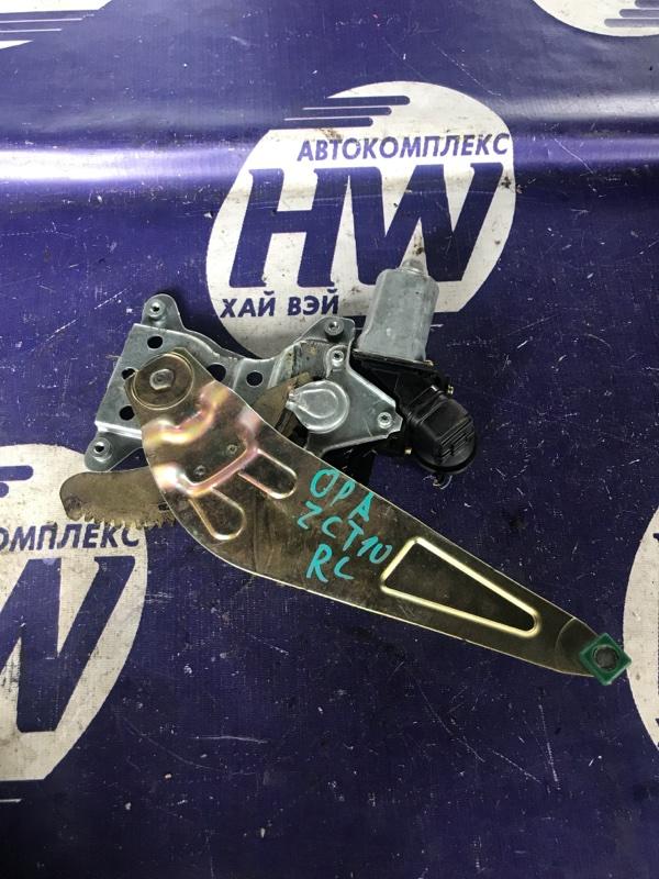 Стеклоподъемник Toyota Opa ZCT10 1ZZ задний левый (б/у)