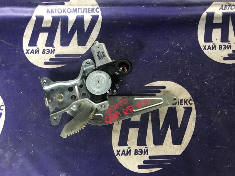 Стеклоподъемник Toyota Opa ZCT10 1ZZ задний правый (б/у)