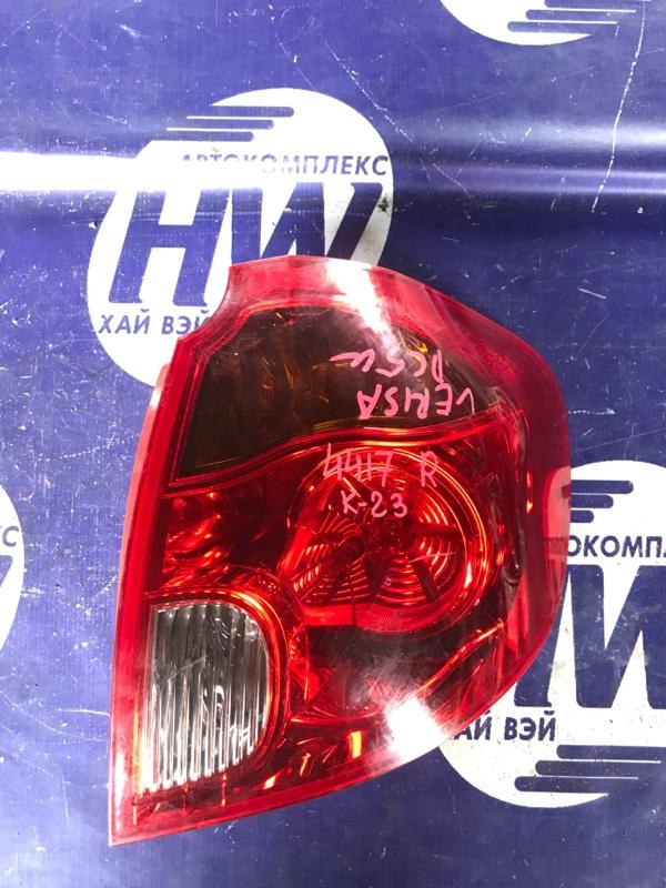 Стоп Mazda Verisa DC5W ZY правый (б/у)