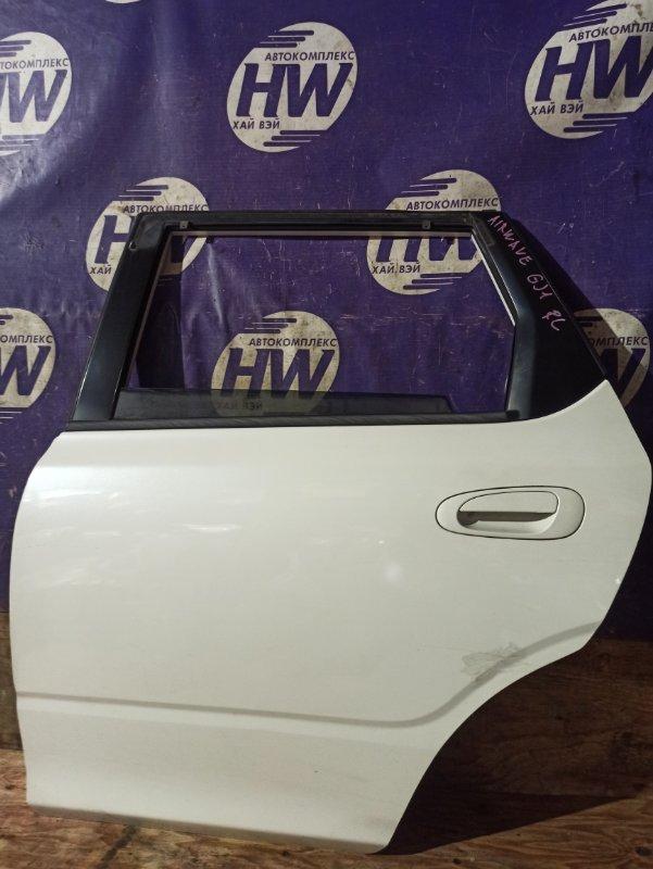 Дверь Honda Airwave GJ1 L15A задняя левая (б/у)