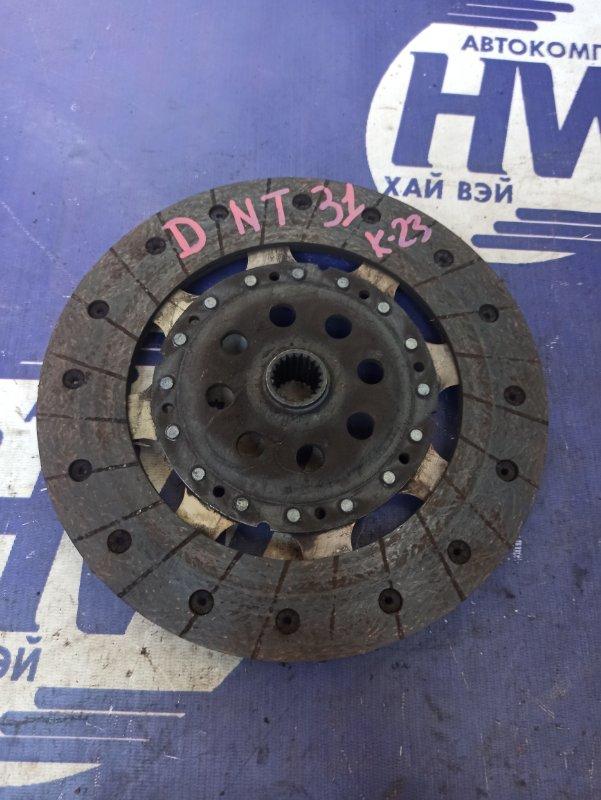 Диск сцепления Nissan X-Trail DNT31 M9R (б/у)