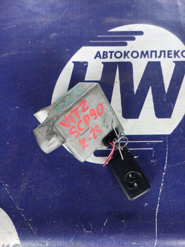 Замок рулевой колонки Toyota Vitz KSP90 1KR (б/у)