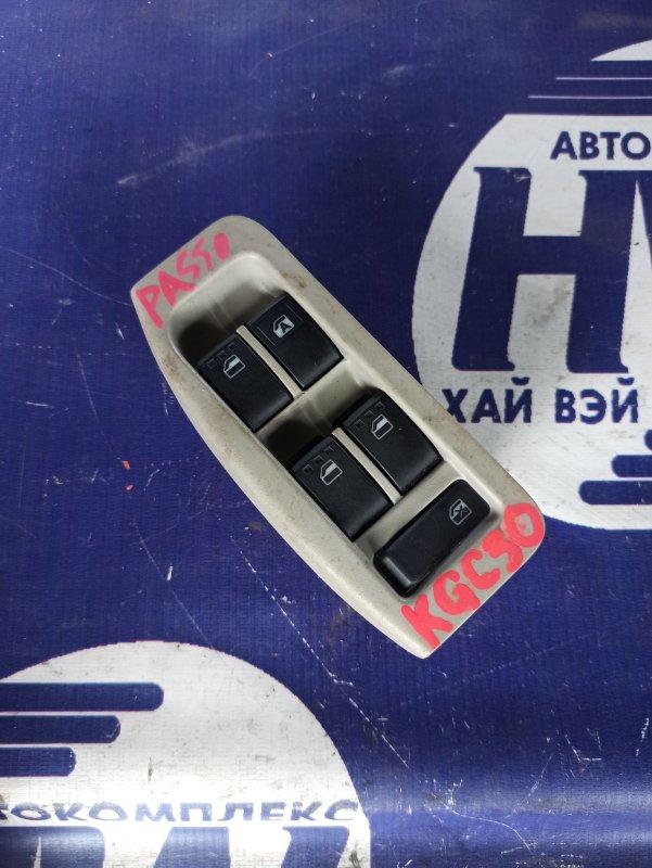 Блок упр. стеклоподъемниками Toyota Passo KGC30 1KR передний правый (б/у)