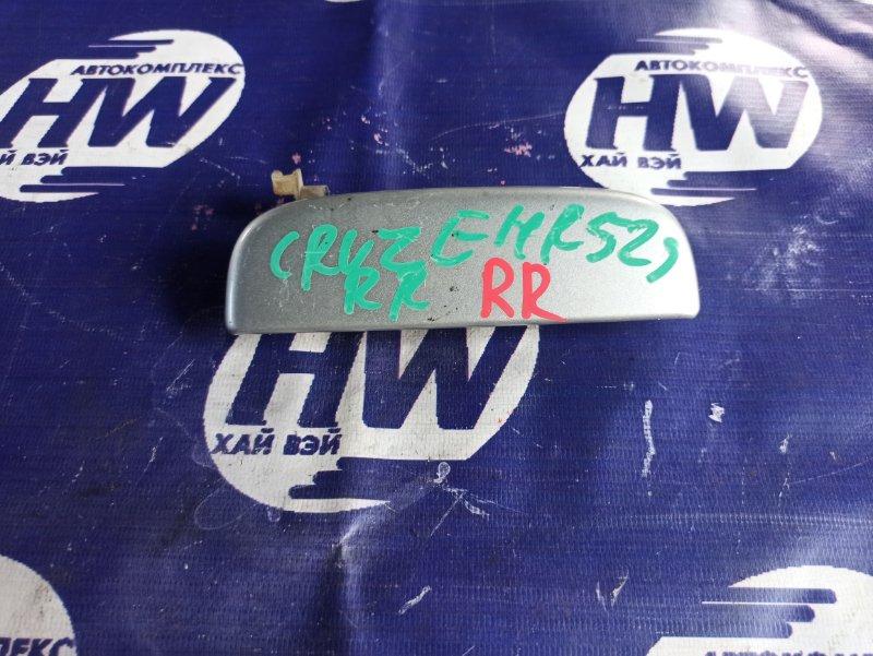 Ручка двери внешняя Suzuki Chevrolet Cruze HR52S M13A задняя правая (б/у)