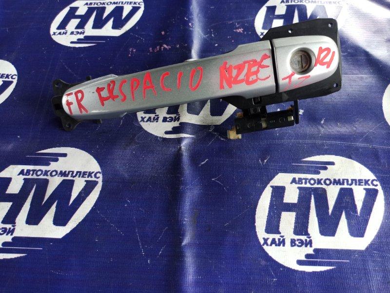 Ручка двери внешняя Toyota Corolla Spacio NZE121 1NZ передняя правая (б/у)