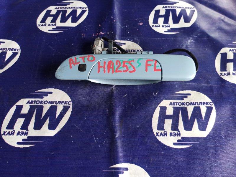 Ручка двери внешняя Suzuki Alto HA25S K6A передняя левая (б/у)