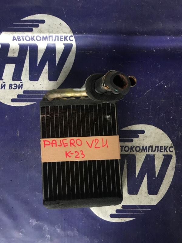 Радиатор печки Mitsubishi Pajero V24 4D56 (б/у)