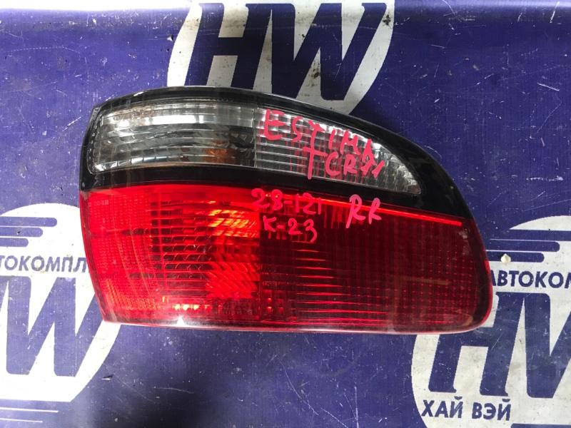 Стоп Toyota Estima TCR11 2TZFZE правый (б/у)