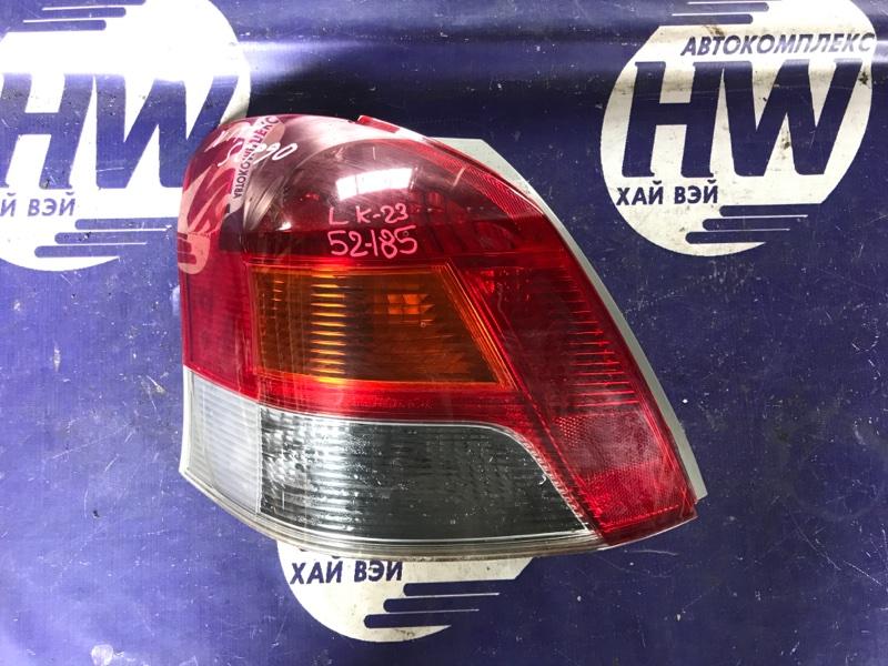 Стоп Toyota Vitz SCP90 2SZ левый (б/у)