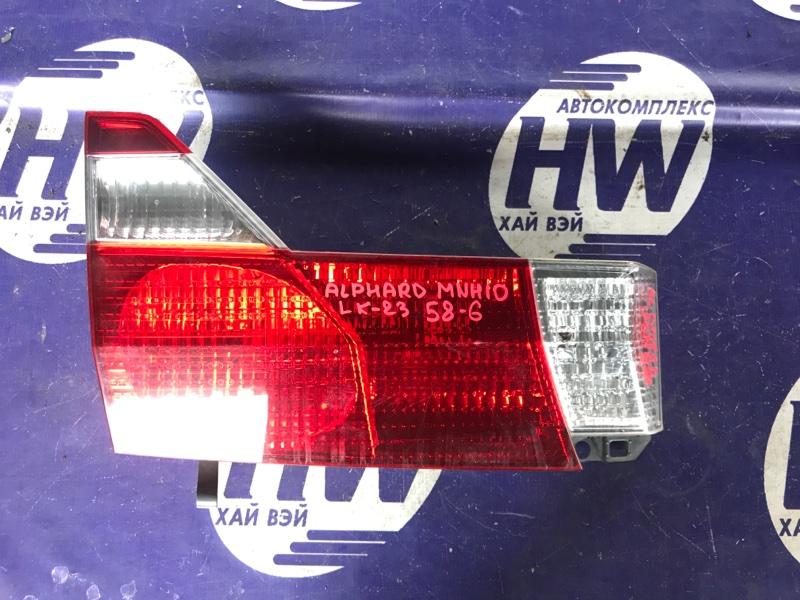 Стоп-вставка Toyota Alphard MNH10 1MZ левая (б/у)