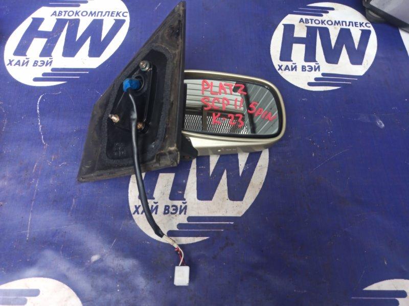 Зеркало Toyota Platz SCP11 1SZ правое (б/у)