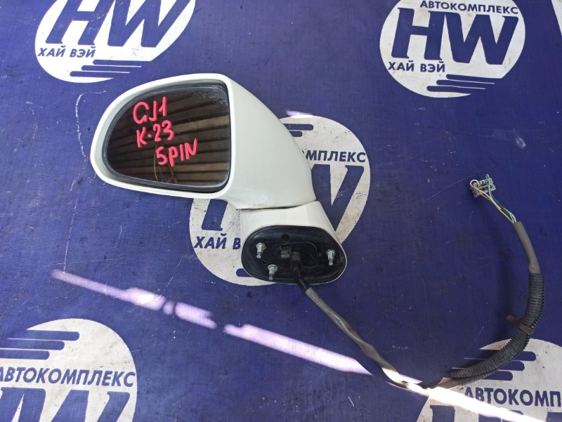 Зеркало Honda Airwave GJ1 L15A левое (б/у)