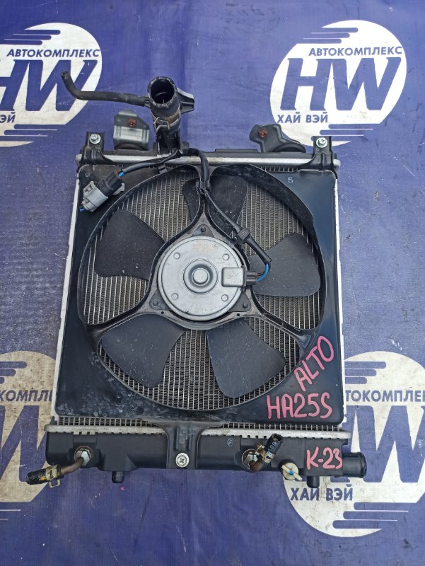 Радиатор Suzuki Alto HA25S K6A (б/у)